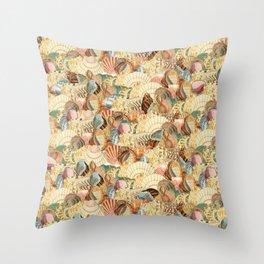 Sea shells pattern 2 Throw Pillow