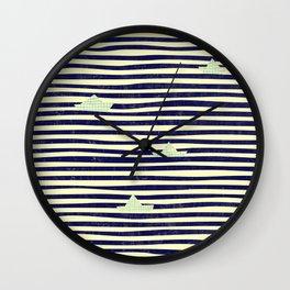 Origaboat Wall Clock