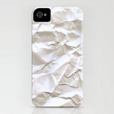 White Trash iPhone (4, 4s) Slim Case