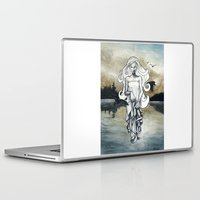 ghost Laptop & iPad Skins featuring Ghost by Steven Bossler