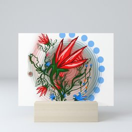 Red Dwarf Plant Mini Art Print