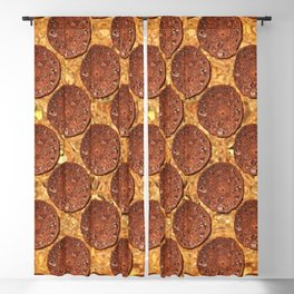 Medieval Coins Polka Dot Pattern Blackout Curtain