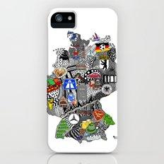 Germany Doodle iPhone (5, 5s) Slim Case