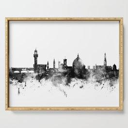 Florence Italy Skyline Serving Tray