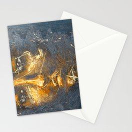 portrait scratches Stationery Cards