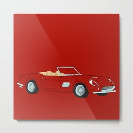 Ferrari 250 GT Califonia Spyder Metal Print