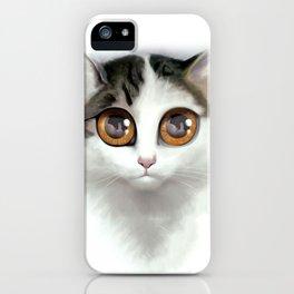 Kitten 1 iPhone Case