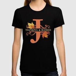 Thanksgiving J Monogram T-shirt