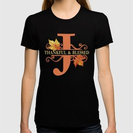 Thanksgiving J Monogram T-shirt
