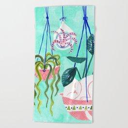 Hanging Gardens Beach Towel