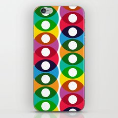 Geometric bubbles iPhone & iPod Skin