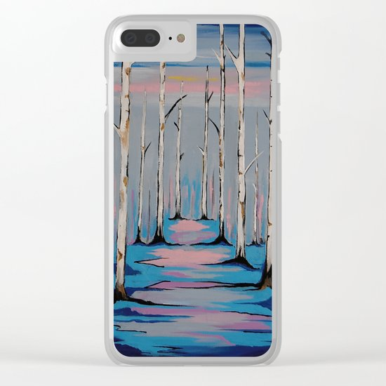 Nature and the Blues Clear iPhone Case