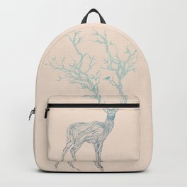 Blue Deer Backpack
