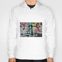 grafitti Hoodies featuring Layers by AntWoman