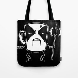 Black coffee Tote Bag