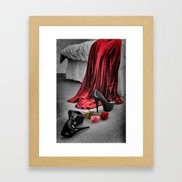 Stiletto Fetiche Framed Art Print