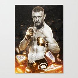 UFC - Conor McGregor  Canvas Print