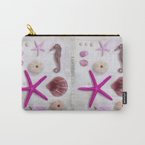 pink beach collection still life Carry-All Pouch