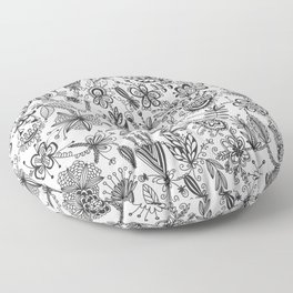 Floral Connection Floor Pillow
