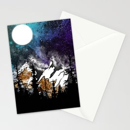 Mountain Nebular Stationery Cards
