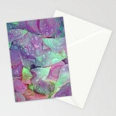 RAIN PETALS Stationery Cards