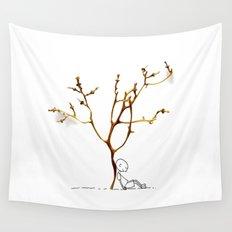 Grape tree Wall Tapestry