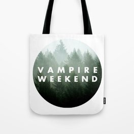 Vampire Weekend trees logo Tote Bag