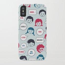 Kids Speak iPhone Case