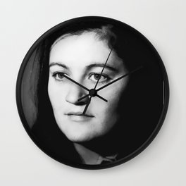 YOUNG. WILD. IMMIGRATION. Wall Clock