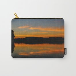 Shoreline sunsets are the best Carry-All Pouch