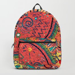 Red Sun Backpack