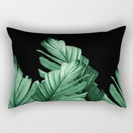 Green Banana Leaves Dream #2 #tropical #decor #art #society6 Rectangular Pillow