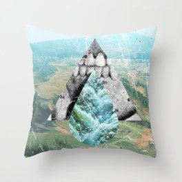 With Teeth Throw Pillow
