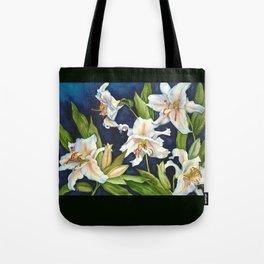 Casablanca Lilies Tote Bag