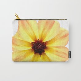 Beautiful Orange and Yellow Flower Carry-All Pouch