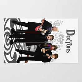 The Doctor Who Band Classic series iPhone 4 4s 5 5c 6 7, pillow case, mugs and tshirt Rug