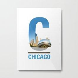 C-hicago Metal Print