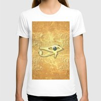 all seeing eye T-shirts featuring The all seeing eye by nicky2342