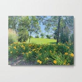Layla's Meadow Metal Print