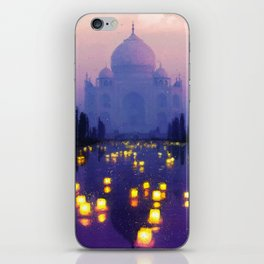 Temple Of The Oasis iPhone Skin