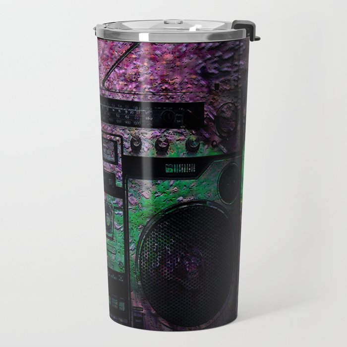 Hot! Boom box Travel Mug