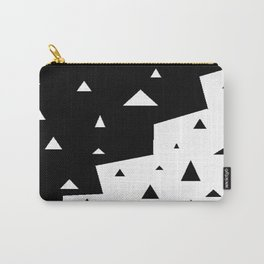 black triangle Carry-All Pouch