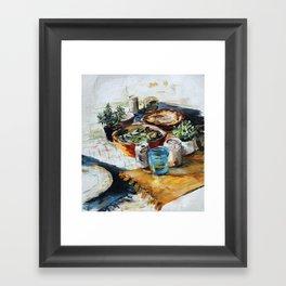 Bungalow Brunch Framed Art Print