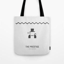 Flat Christopher Nolan movie poster: The Prestige Tote Bag