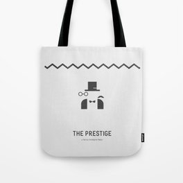 Flat Christopher Nolan movie poster: The Prestige Tote Bag