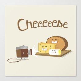 cheeeese Canvas Print