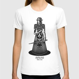 Legend of Zelda Princess Zelda Line Work  T-shirt