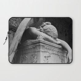 Mourning Angel Laptop Sleeve