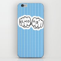 blues brothers iPhone & iPod Skins featuring [ Blues Brothers ] Elwood Blues Dan Aykroyd by Vyles