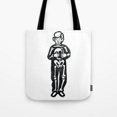 Skeleton  Boy Tote Bag